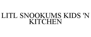 mark for LITL SNOOKUMS KIDS 'N KITCHEN, trademark #78750323