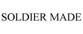 mark for SOLDIER MADE, trademark #78750722