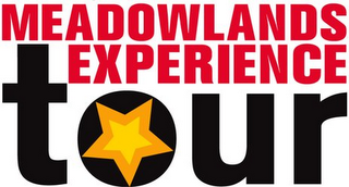 mark for MEADOWLANDS EXPERIENCE TOUR, trademark #78751129