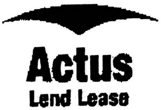 mark for ACTUS LEND LEASE, trademark #78751494