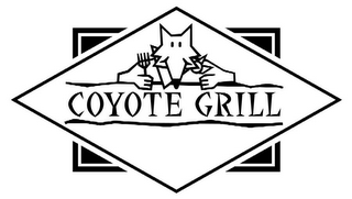 mark for COYOTE GRILL, trademark #78751635