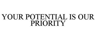 mark for YOUR POTENTIAL IS OUR PRIORITY, trademark #78752401