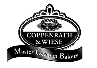 mark for COPPENRATH & WIESE MASTER GERMAN BAKERS, trademark #78753173