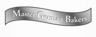 mark for MASTER GERMAN BAKERS, trademark #78753340