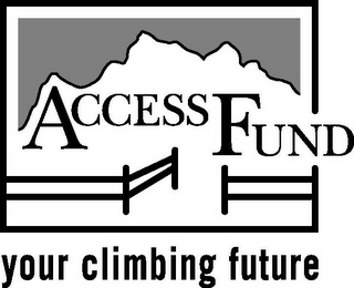 mark for ACCESS FUND YOUR CLIMBING FUTURE, trademark #78753638