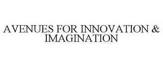 mark for AVENUES FOR INNOVATION & IMAGINATION, trademark #78753970