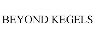 mark for BEYOND KEGELS, trademark #78754168