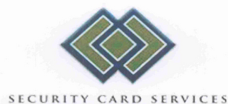 mark for SECURITY CARD SERVICES, trademark #78754358