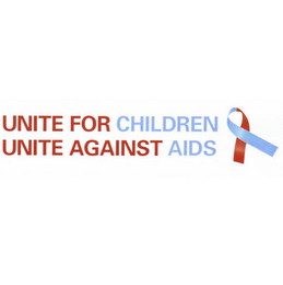 mark for UNITE FOR CHILDREN UNITE AGAINST AIDS, trademark #78754492