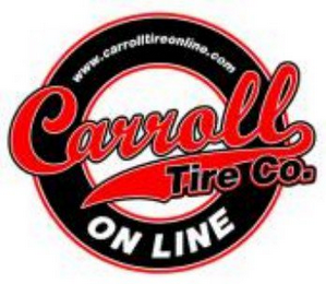 mark for CARROLL TIRE CO. ON LINE WWW.CARROLLTIREONLINE.COM, trademark #78754708