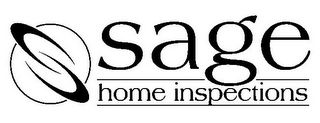 mark for SAGE HOME INSPECTIONS, trademark #78755971