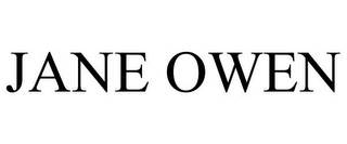 mark for JANE OWEN, trademark #78756190