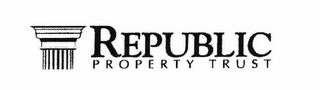 mark for REPUBLIC PROPERTY TRUST, trademark #78757251