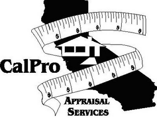 mark for CALPRO APPRAISAL SERVICES, trademark #78760623