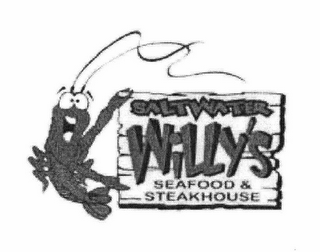 mark for SALTWATER WILLY'S SEAFOOD & STEAKHOUSE, trademark #78760973