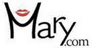 mark for MARY.COM, trademark #78761345