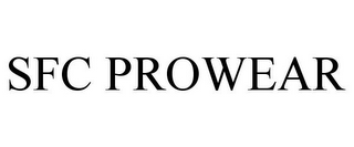 mark for SFC PROWEAR, trademark #78762070