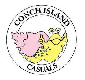 mark for CONCH ISLAND CASUALS, trademark #78762580