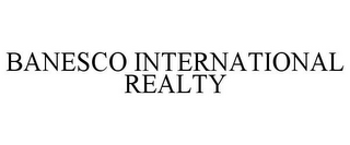 mark for BANESCO INTERNATIONAL REALTY, trademark #78762679