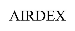 mark for AIRDEX, trademark #78762990