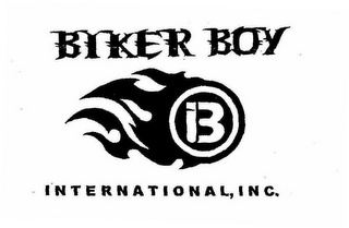 mark for B BIKER BOY INTERNATIONAL, INC., trademark #78763284
