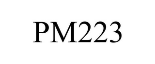 mark for PM223, trademark #78763488
