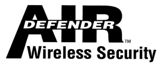 mark for AIRDEFENDER WIRELESS SECURITY, trademark #78763679