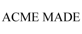 mark for ACME MADE, trademark #78764081