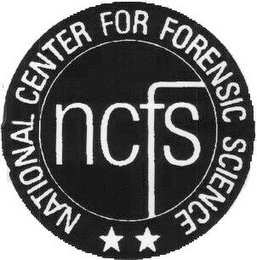 mark for NCFS NATIONAL CENTER FOR FORENSIC SCIENCE, trademark #78765565