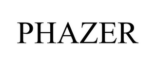 mark for PHAZER, trademark #78765742