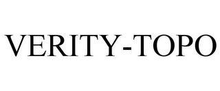 mark for VERITY-TOPO, trademark #78765818