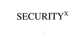 mark for SECURITYX, trademark #78766158