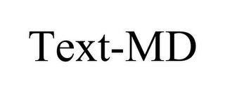 mark for TEXT-MD, trademark #78766277