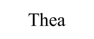 mark for THEA, trademark #78766349