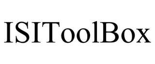 mark for ISITOOLBOX, trademark #78766737