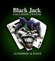 mark for BLACK JACK COLLISION CENTER AUTOBODY & PAINT, trademark #78767162