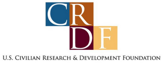 mark for CRDF U.S. CIVILIAN RESEARCH & DEVELOPMENT FOUNDATION, trademark #78768175