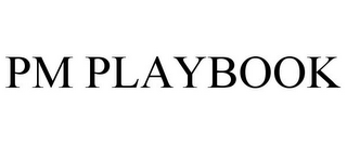 mark for PM PLAYBOOK, trademark #78768473