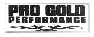 mark for PRO GOLD PERFORMANCE, trademark #78769433