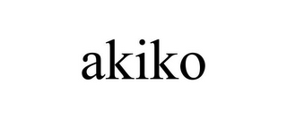 mark for AKIKO, trademark #78770644