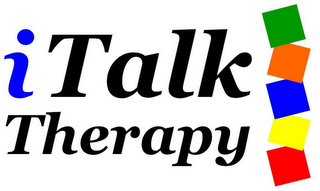 mark for ITALK THERAPY, trademark #78770718