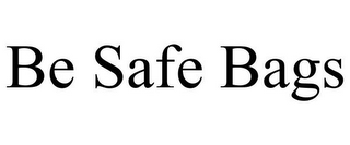 mark for BE SAFE BAGS, trademark #78770738