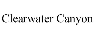 mark for CLEARWATER CANYON, trademark #78770876