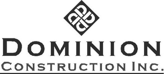 mark for DDDD DOMINION CONSTRUCTION INC., trademark #78770987