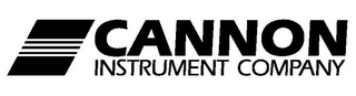mark for CANNON INSTRUMENT COMPANY, trademark #78771295