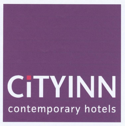 mark for CITY INN CONTEMPORARY HOTELS, trademark #78771326