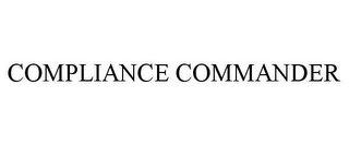 mark for COMPLIANCE COMMANDER, trademark #78772063