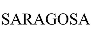 mark for SARAGOSA, trademark #78772293