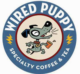 mark for WIRED PUPPY SPECIALTY COFFEE & TEA, trademark #78773453