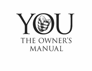 mark for YOU THE OWNER'S MANUAL, trademark #78773937